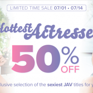 Hottest Actresses Sale – 50% Off Movies